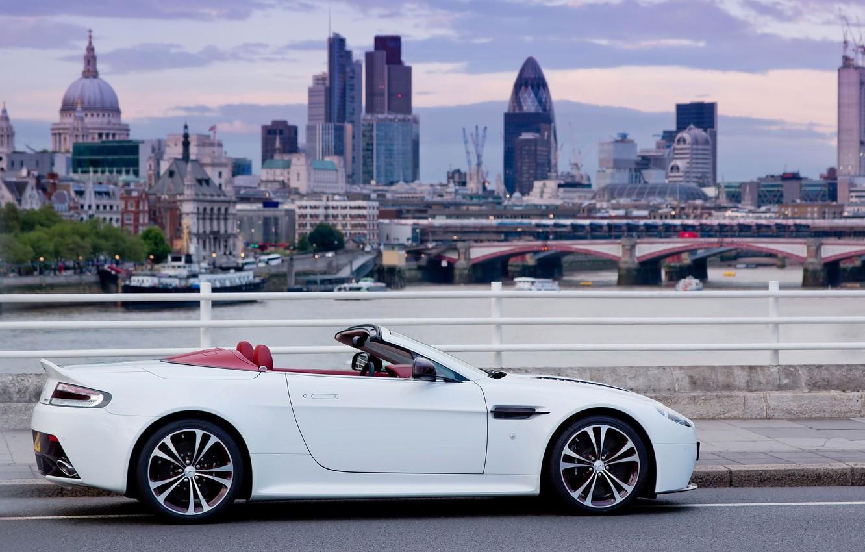 Photo wallpaper Aston Martin, Vantage, V12