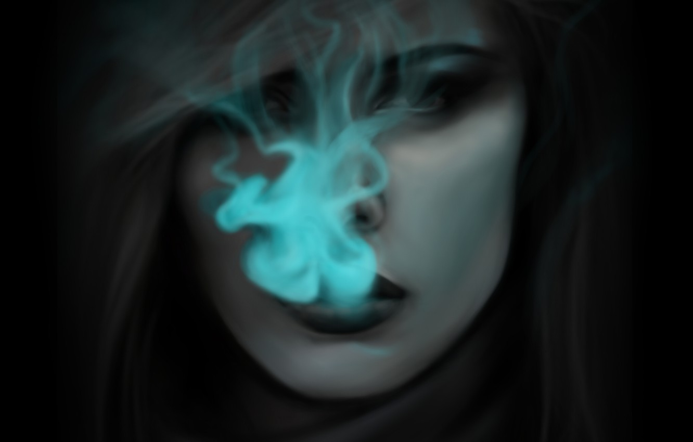Photo wallpaper girl, smoke, anime, art, axis powers hetalia and axis countries, hetalia, mochifin, netherlands