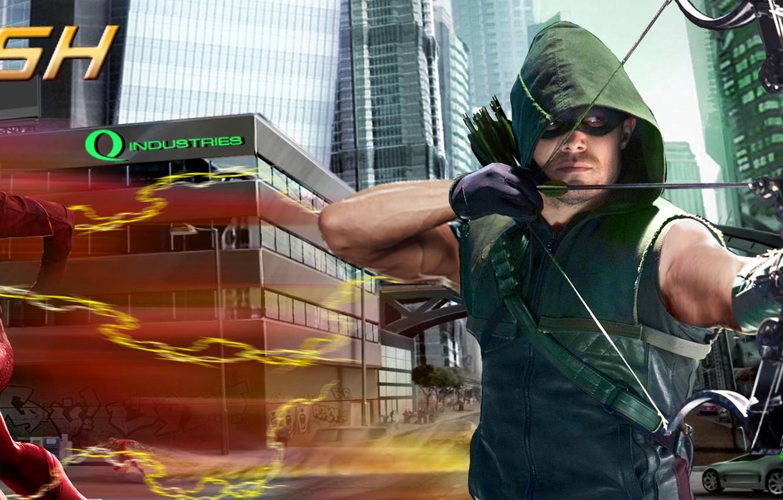 Wallpaper Arrow Season 4 City Season 2 Flash Images For
