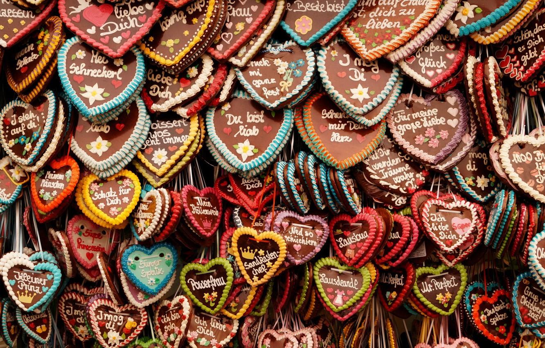 Wallpaper heart, cookies, Munich, Oktoberfest images for ...