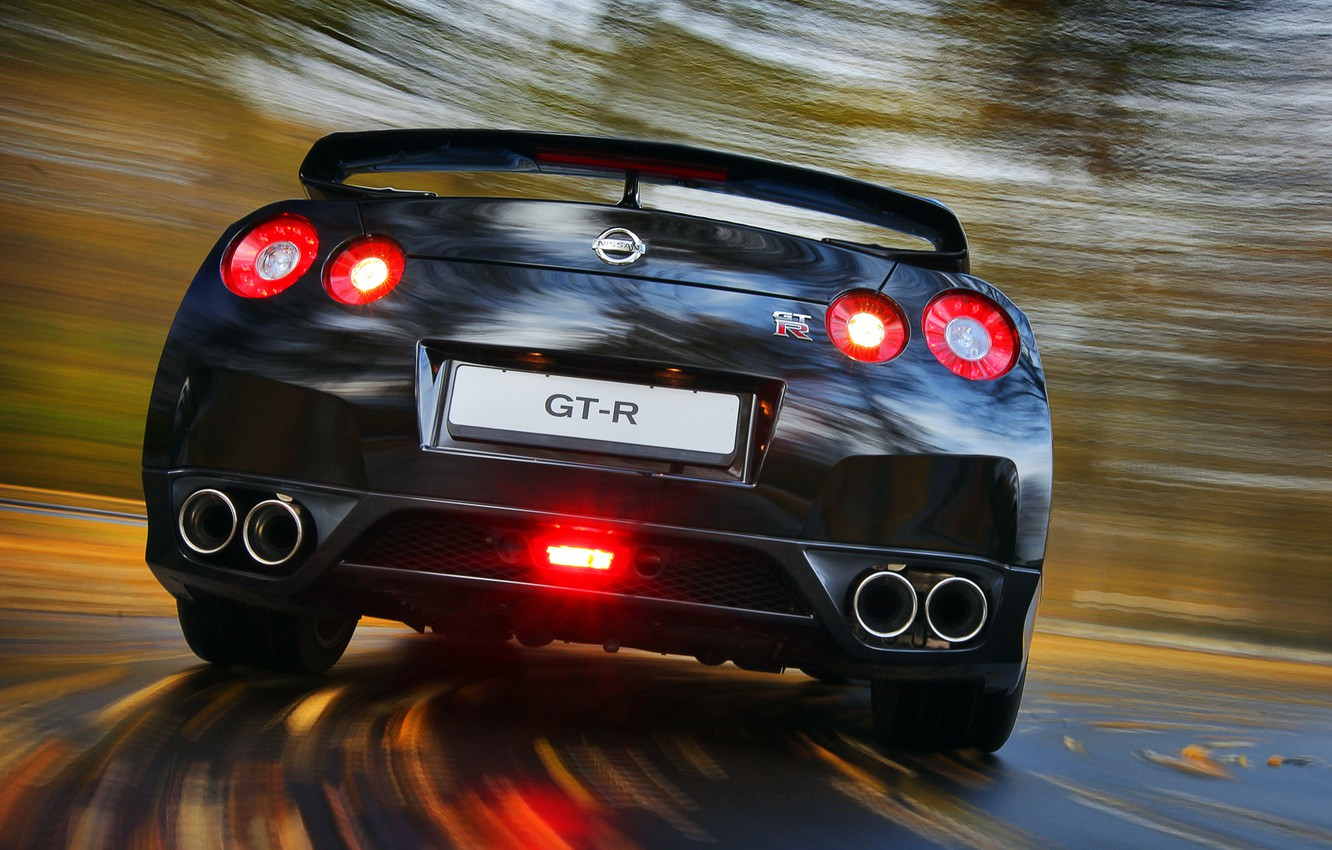 Photo wallpaper Nissan, Machine, Nissan, GT-R, Cars, Skyline, R35, Cars