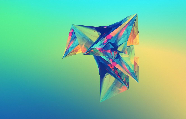 Photo wallpaper abstraction, Escapade, Justin Maller