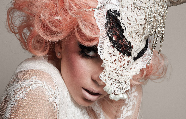 Photo wallpaper hat, Lady Gaga, Lady Gaga