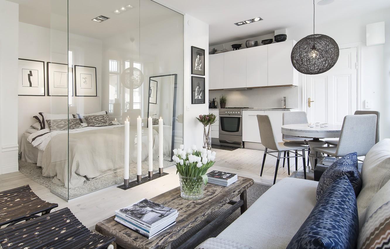 Photo wallpaper interior, apartment, living space