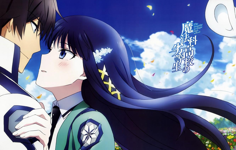 Wallpaper Romance Anime Mahou Giving Koukou No Rettousei