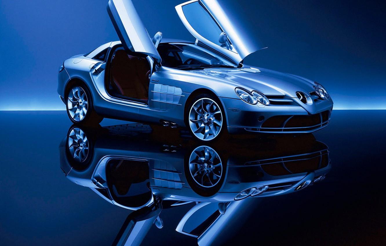 Photo wallpaper McLaren, Mercedes, Benz