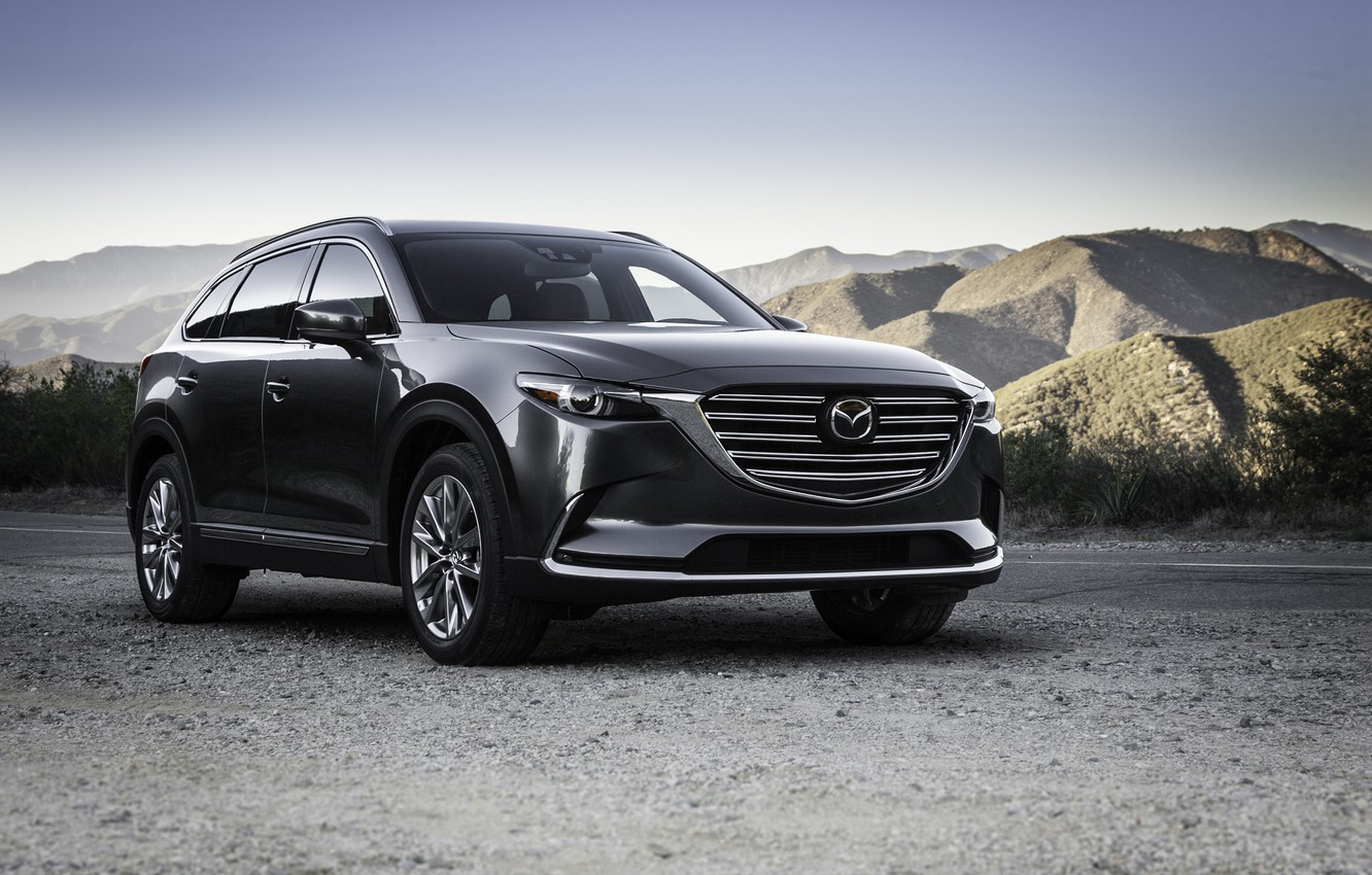 Photo wallpaper Mazda, Mazda, crossover, CX-9