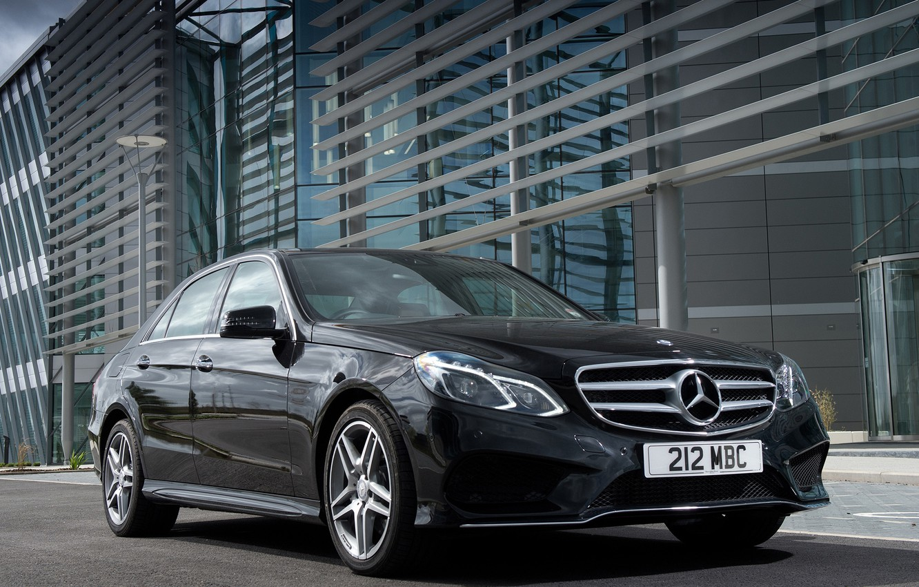 Photo wallpaper Mercedes-Benz, Mercedes, AMG, the front, Sports Package, BlueTec, E 350