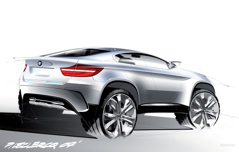 Photo wallpaper BMW, Active Hybrid