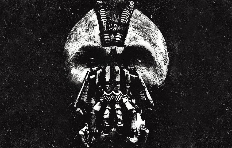 Photo wallpaper the dark knight, Bane, bane, Tom Hardy, the dark knight: the legend