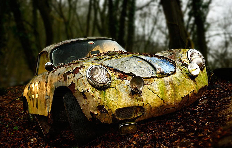 Photo wallpaper Porsche, repair, required, 356 A