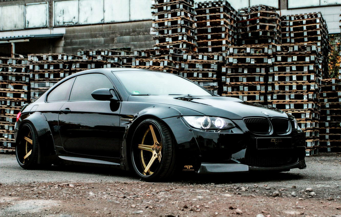 Photo wallpaper BMW, BMW, Coupe, E92, PP Exclusive
