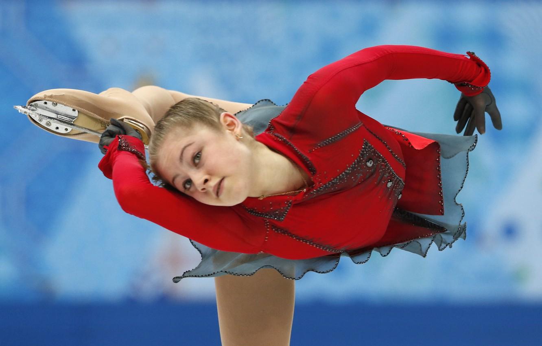 Photo wallpaper rotation, figure skating, Russia, RUSSIA, Sochi 2014, The XXII Winter Olympic Games, Sochi 2014, Yulia …