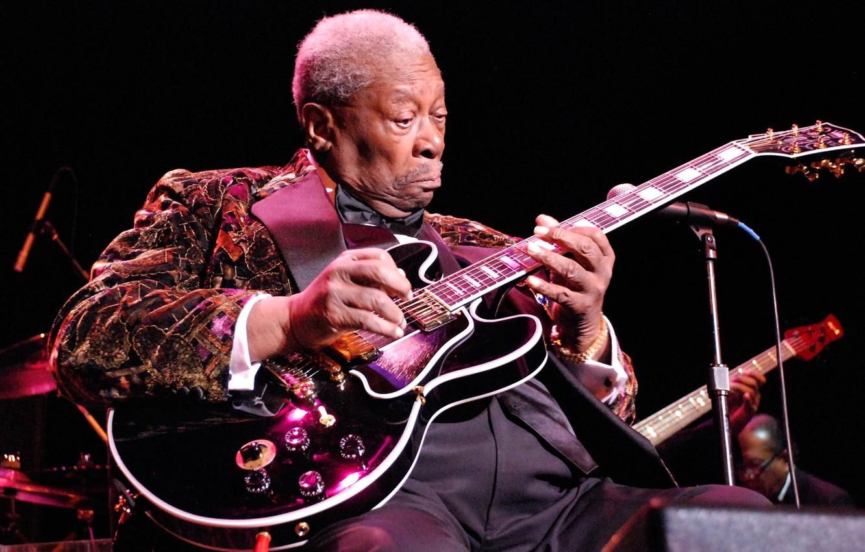 Photo wallpaper music, jazz, guitarist, Blues, B. B. King, B.B. King