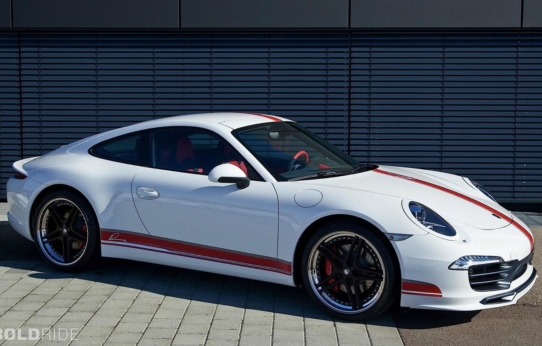 Photo wallpaper Porsche 911, Side, Carrera S, By LUMMA Design