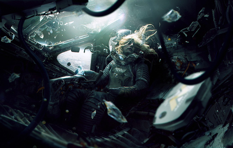 Photo wallpaper space, death, fiction, planet, the suit, orbit, cabin, pilot, aliens, alien, astronaut, wayland-eaters, Weyland-Yutani Corporation