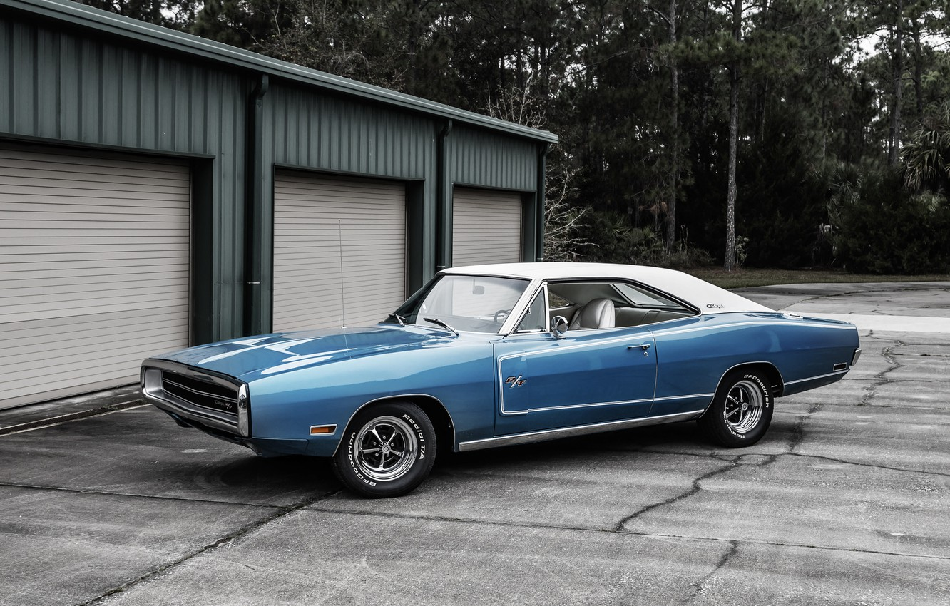 Photo wallpaper Dodge, Dodge, Charger, 1970, the charger