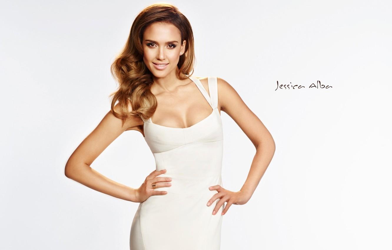 Photo wallpaper model, Jessica Alba, actress, Jessica Alba