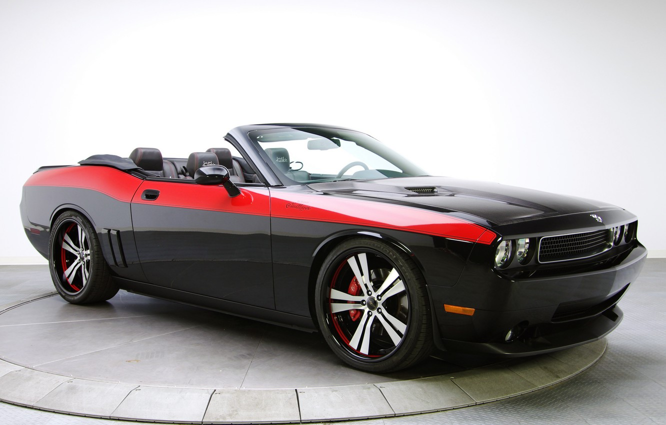 Photo wallpaper 2008, Dodge, Challenger, Norms