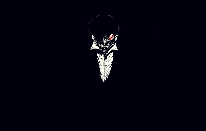 Wallpaper anime, mask, anime, red eye ...