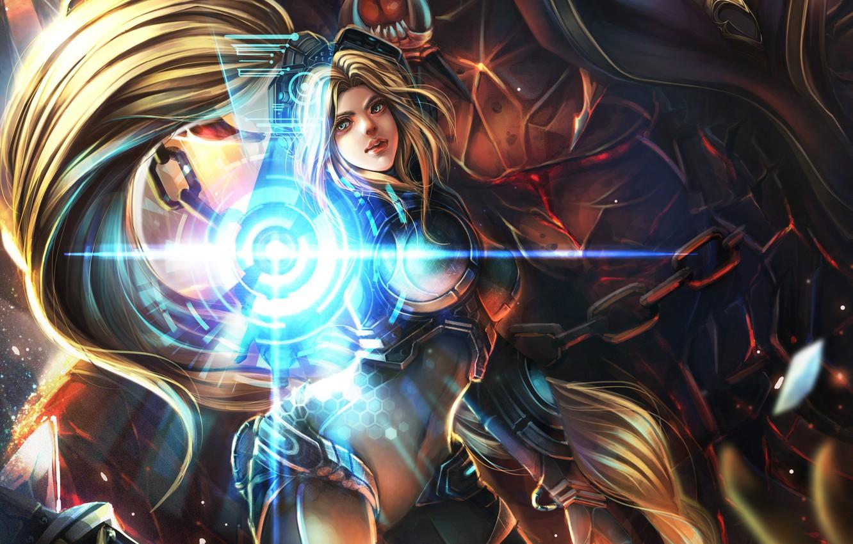 Wallpaper starcraft heroes of the storm nova nova terra - Heroes of the storm phone wallpaper ...