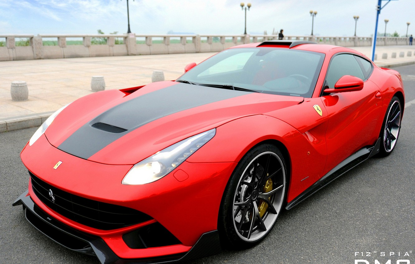 Photo wallpaper Ferrari, DMC, Tuning, Berlinetta, F12, Spia, Super sports car