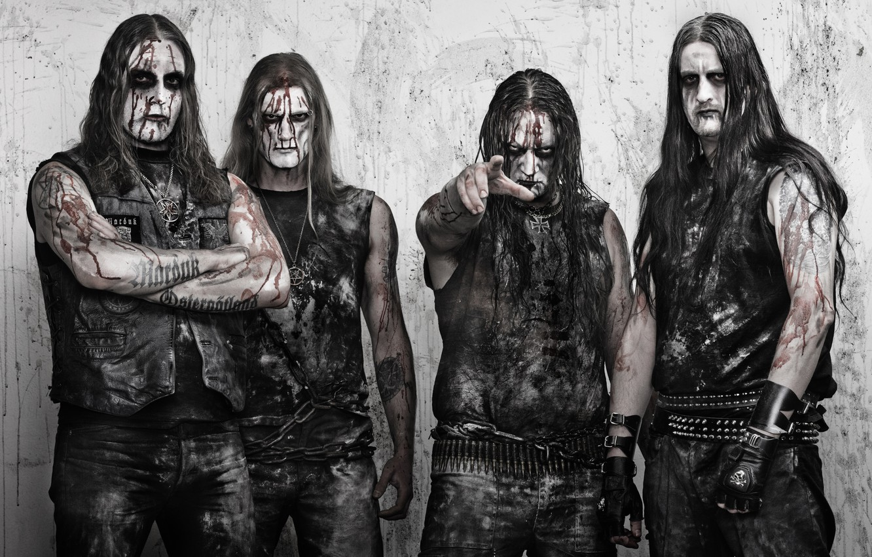 Photo wallpaper black metal, Marduk, Marduk