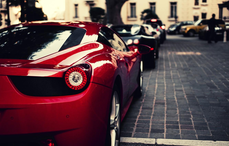 Photo wallpaper red, black, veyron, Ferrari, red, bugatti, supercar, Ferrari, Bugatti, 458, italia, blue, Italy, Veyron