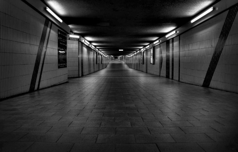 Photo wallpaper metro, wall, wall, the tunnel, the tunnel, underground, tunnels, subway, underpass, subways, metropolitan, subway, tunnels