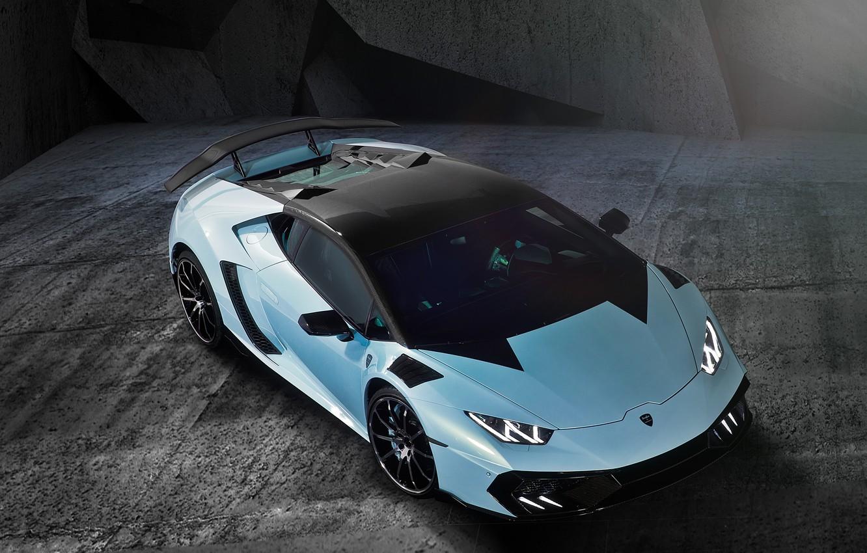 Photo wallpaper Lamborghini, View, Mansory, Supercar, Huracan, Top, Torofeo, 1000HP