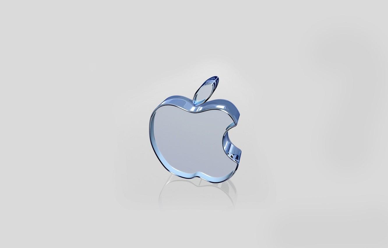 Photo wallpaper apple, comp, brand
