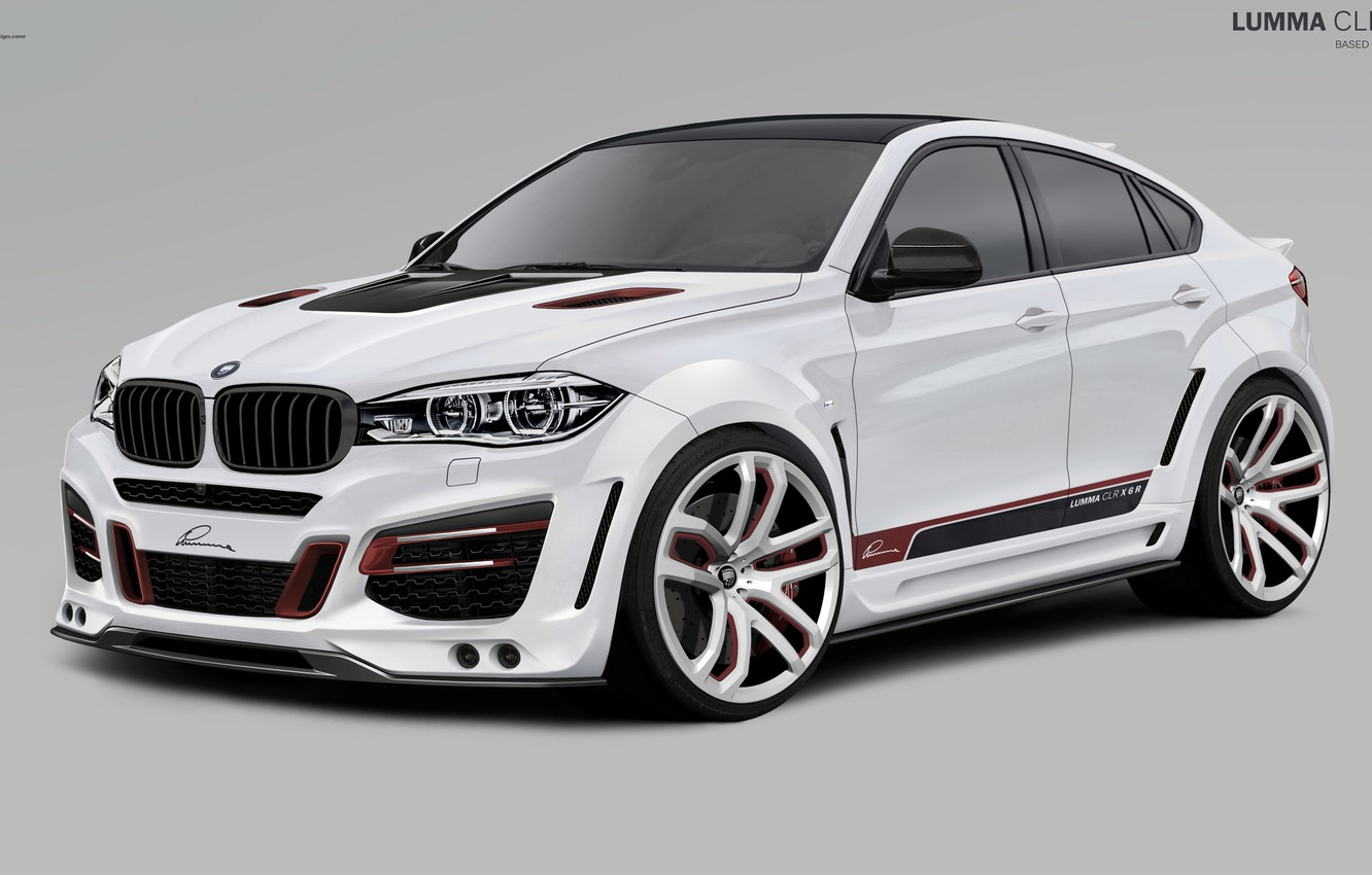 Photo wallpaper BMW, BMW, 2010, Lumma Design, X6 M