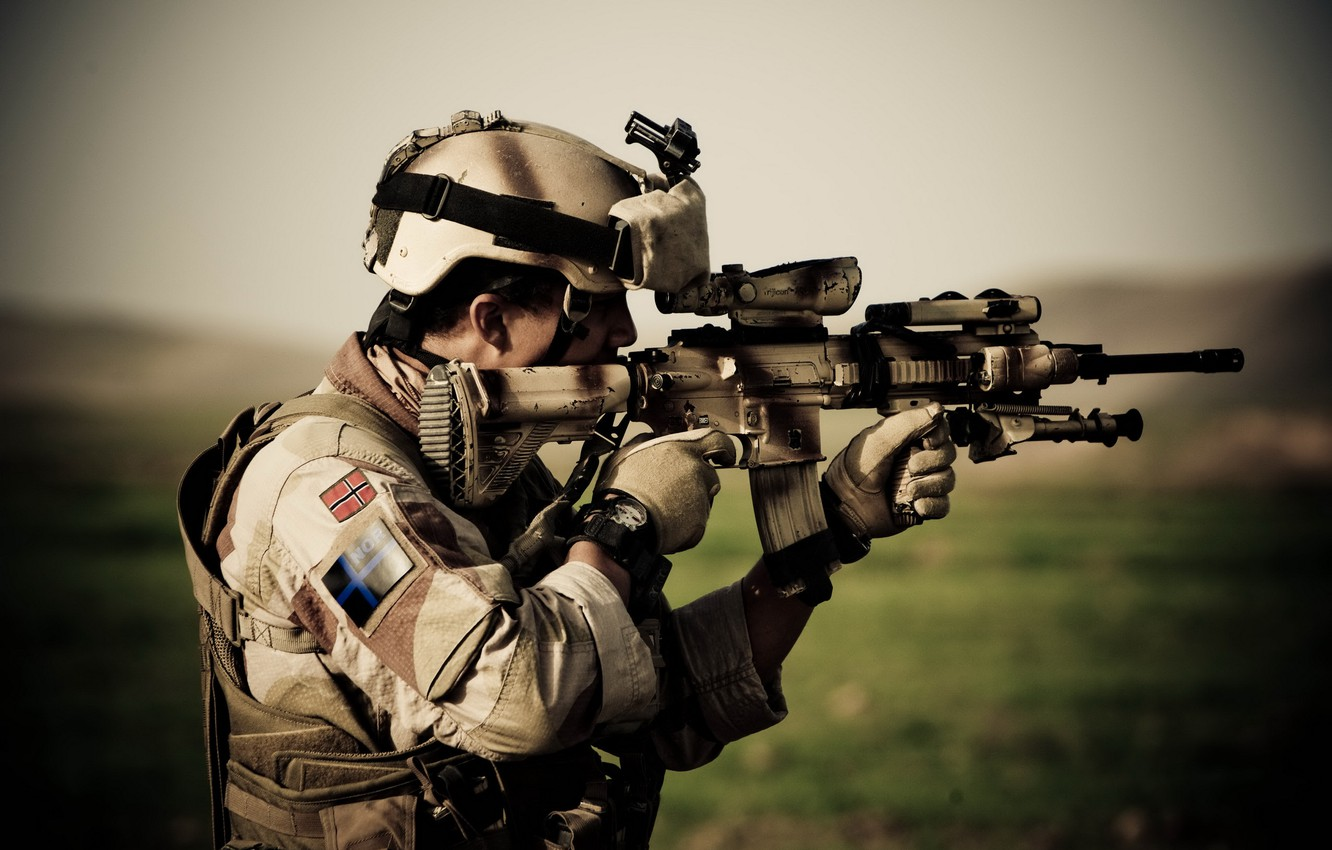 Photo wallpaper the situation, soldiers, operation, Afghanistan, Chashme Naw, Colt