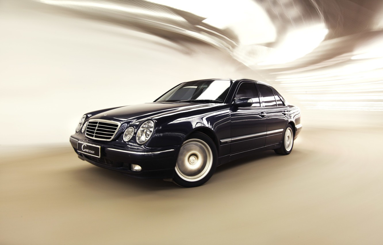 Photo wallpaper Mercedes-Benz, Mercedes, E-class, 2000, E-Class, E-class, W210, Executivklasse, Lupato, Eyed, E430