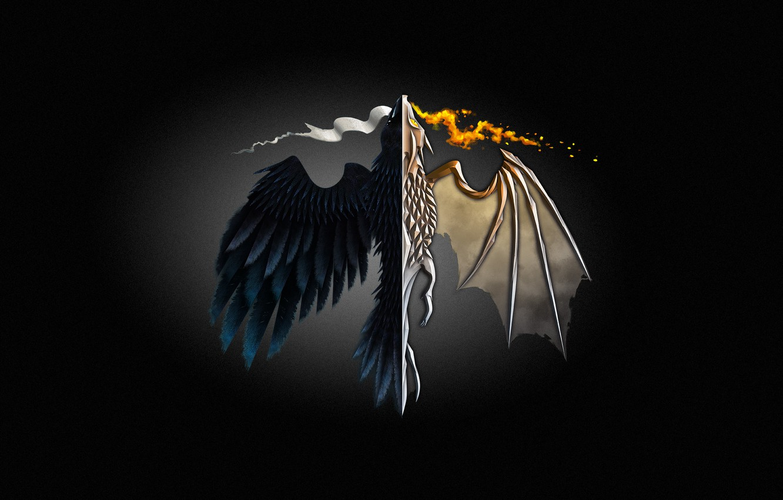 Wallpaper Game Of Thrones Minimalism Dragon Minimalism Game Of
