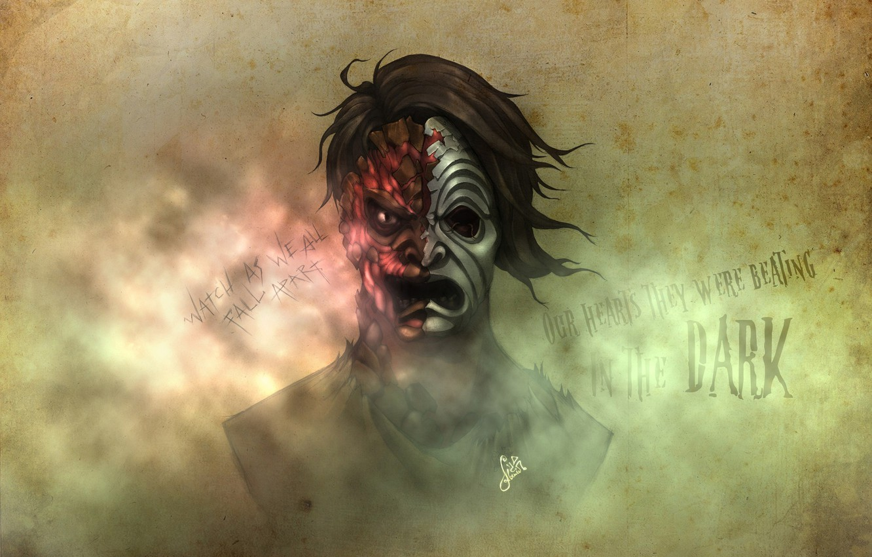 Photo wallpaper Da Kurlzz, Hollywood Undead, artwork, Notes from the Underground