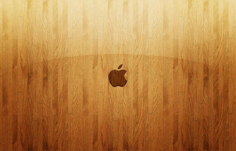 Photo wallpaper strips, tree, apple