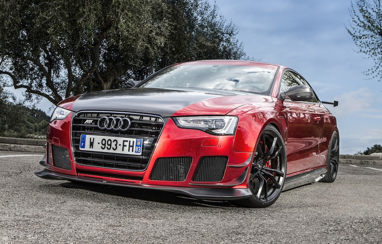 Photo wallpaper Audi, tuning, ABBOT, RS5-R
