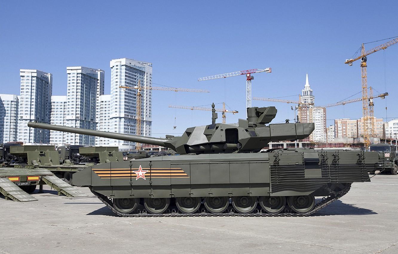 Photo wallpaper Tank, Armata, T-14