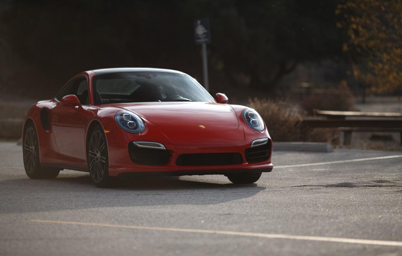 Photo wallpaper 911, Porsche, red, Stoke