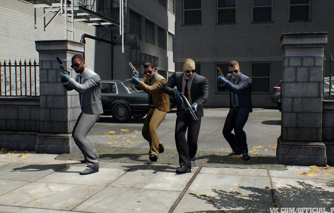 Photo wallpaper The Heist, PAYDAY, PAYDAY 2, Infamy