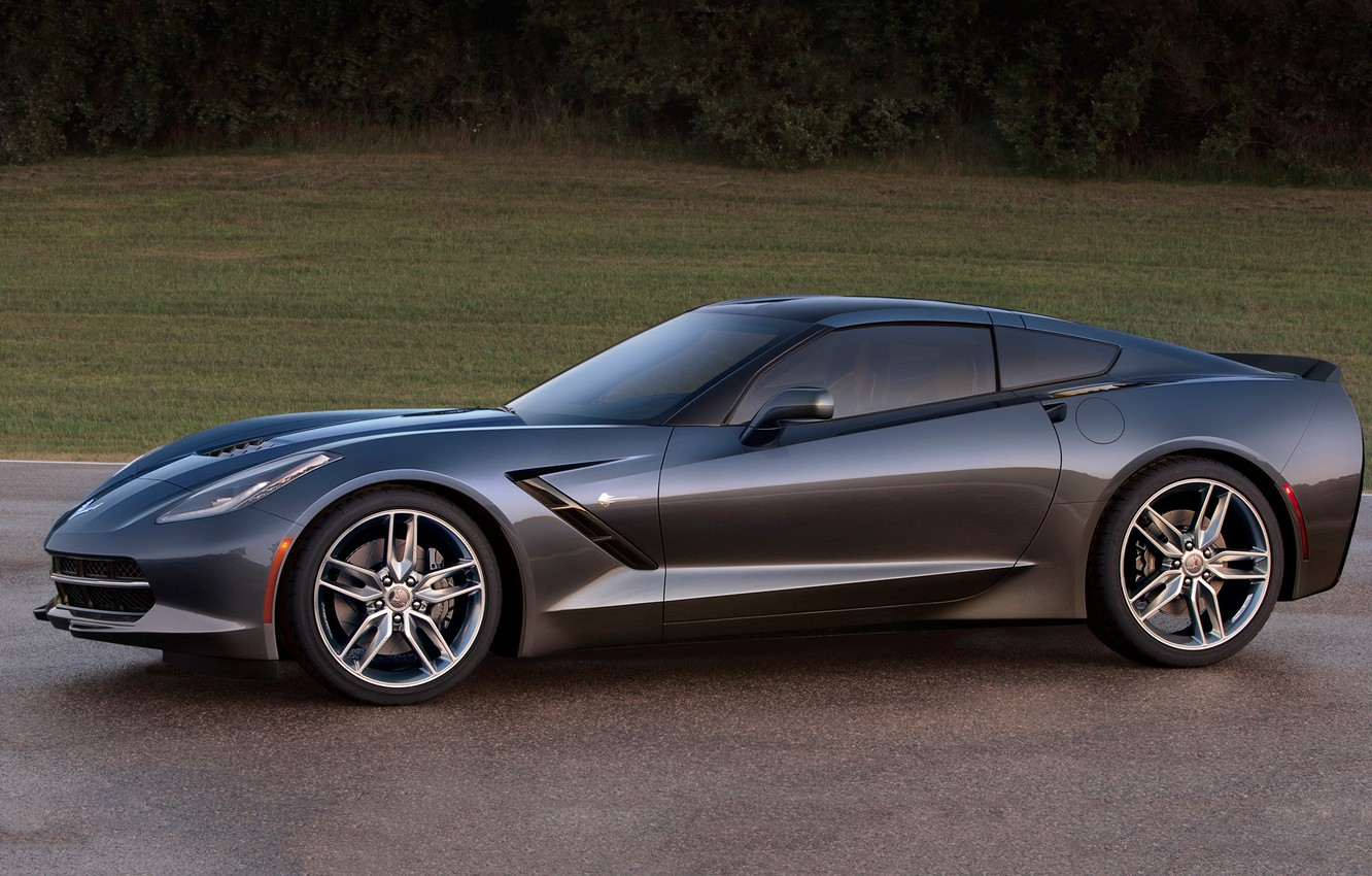 Photo wallpaper Corvette, Chevrolet, Stingray, 2014