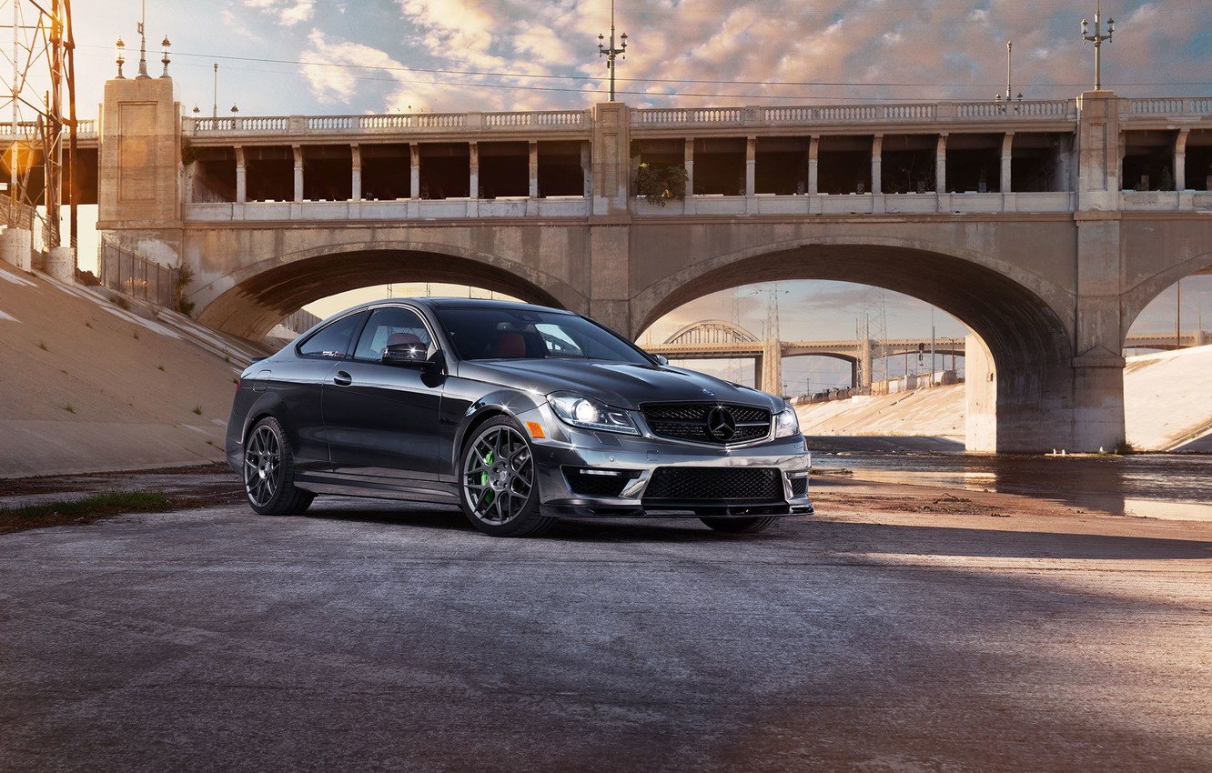 Photo wallpaper car, mercedes, amg, c63, 1013mm