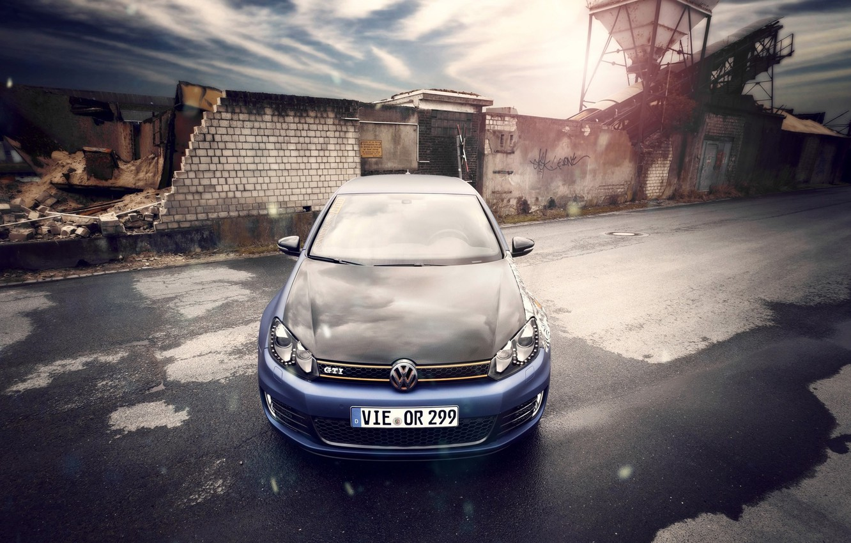 Photo wallpaper car, car, golf