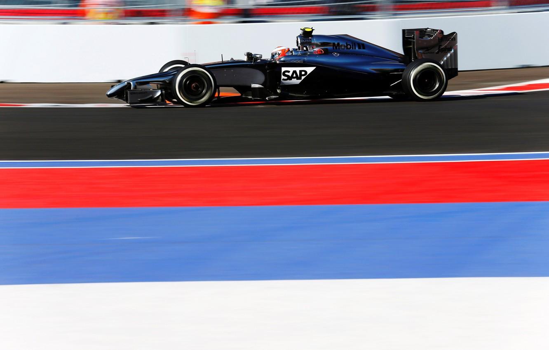 Photo wallpaper McLaren, Formula 1, MP4-29, Sochi, Kevin Magnussen