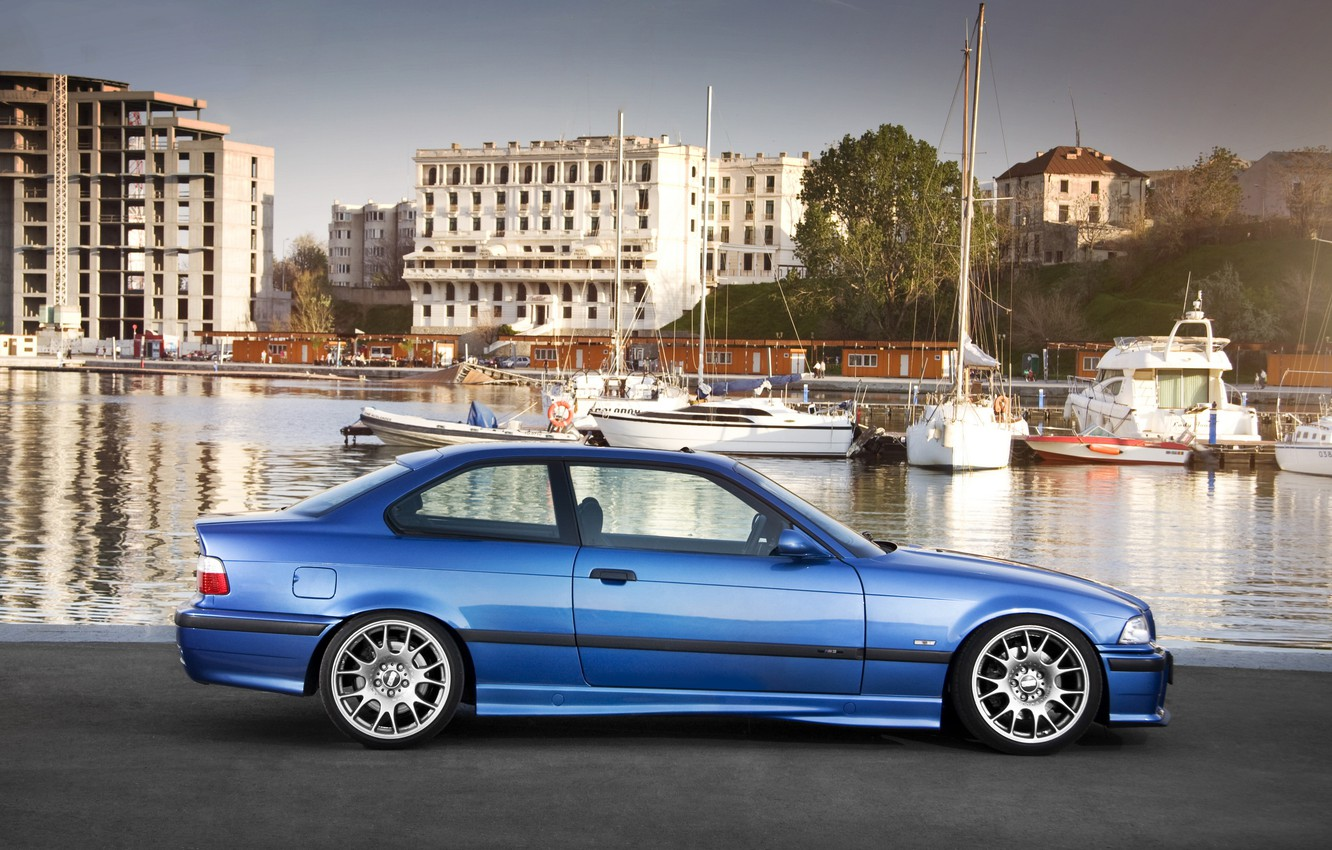 Photo wallpaper car, auto, BMW, promenade, bmw m3, E36, auto wallpaper