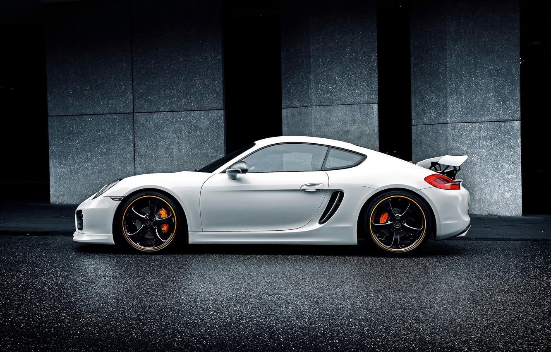 Photo wallpaper car, auto, tuning, Porsche, TechArt, Porsche Cayman