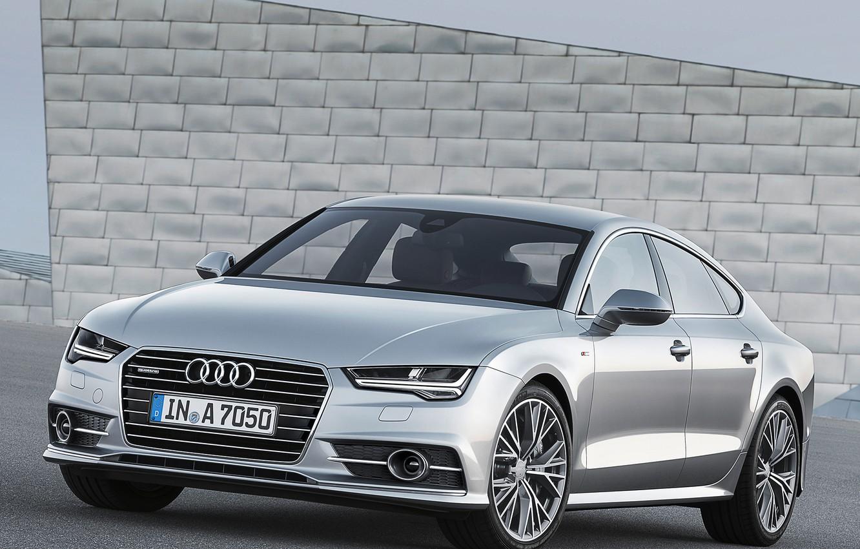 Photo wallpaper Audi, TDI, Quattro, Sportback, S-Line, 3.0, 2014