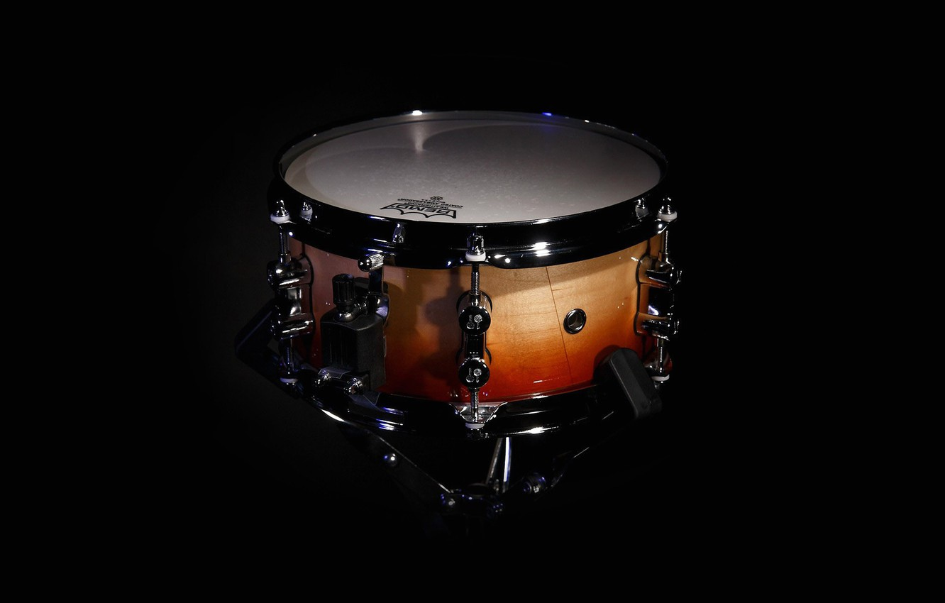 Photo wallpaper group, drum, sounds, orchestra, roll