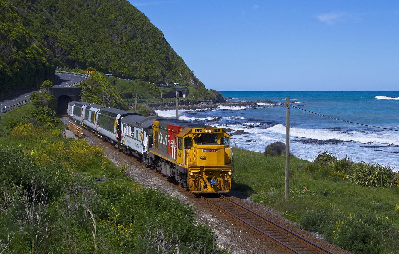 Photo wallpaper car, wallpaper, train